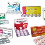 Средства от боли в горле для детей и взрослых