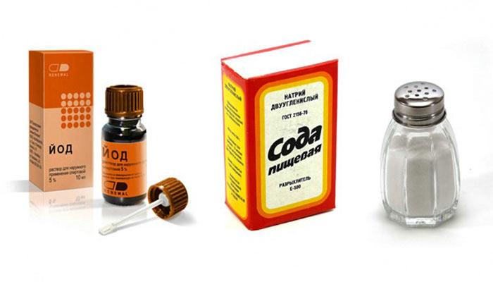 содо-солевой раствор от боли в горле
